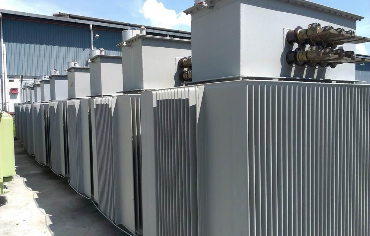ترانسفوماتورهای ساخته شده در AMSGB مالزي